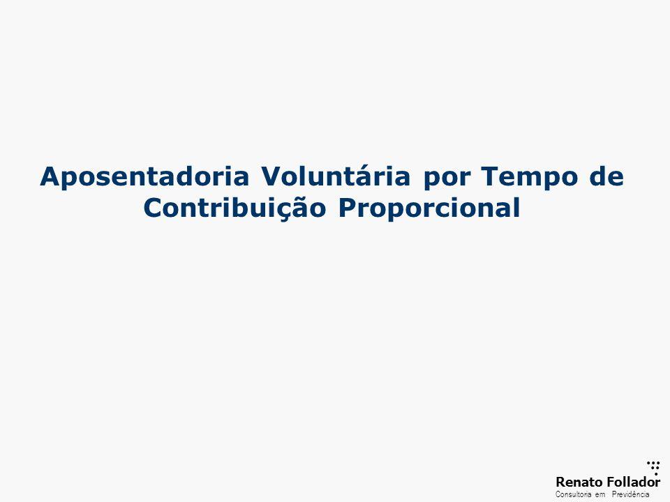 Aposentadoria Voluntária por Tempo de Contribuição Proporcional