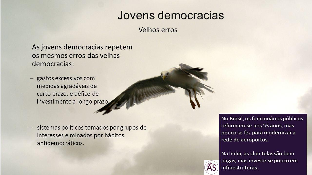 Jovens democracias Velhos erros