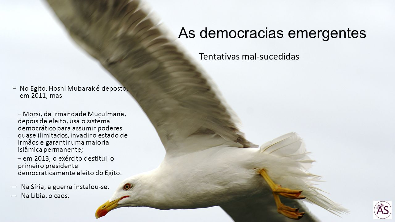 As democracias emergentes