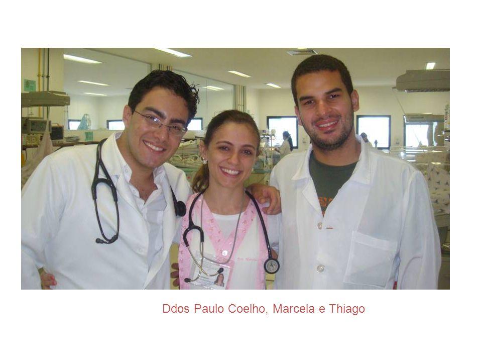 Ddos Paulo Coelho, Marcela e Thiago