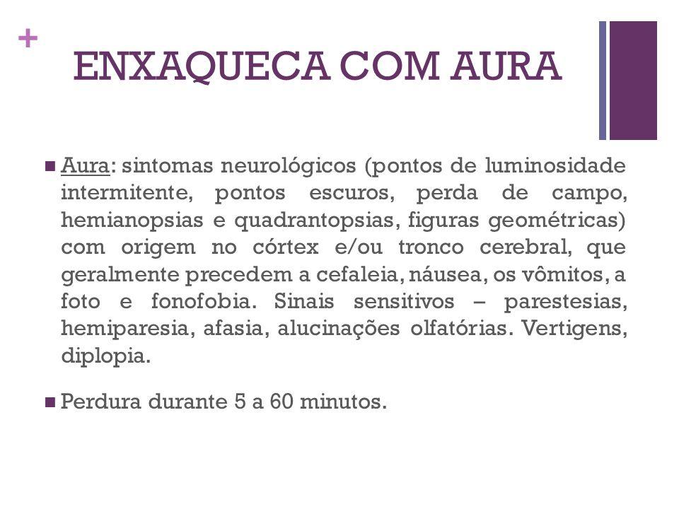 ENXAQUECA COM AURA