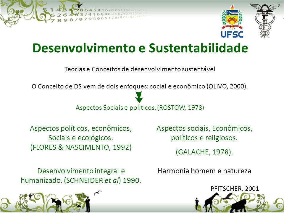 Desenvolvimento e Sustentabilidade