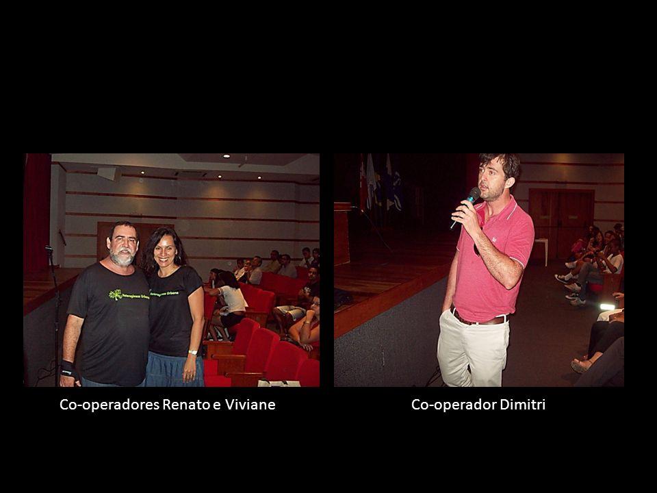 Co-operadores Renato e Viviane