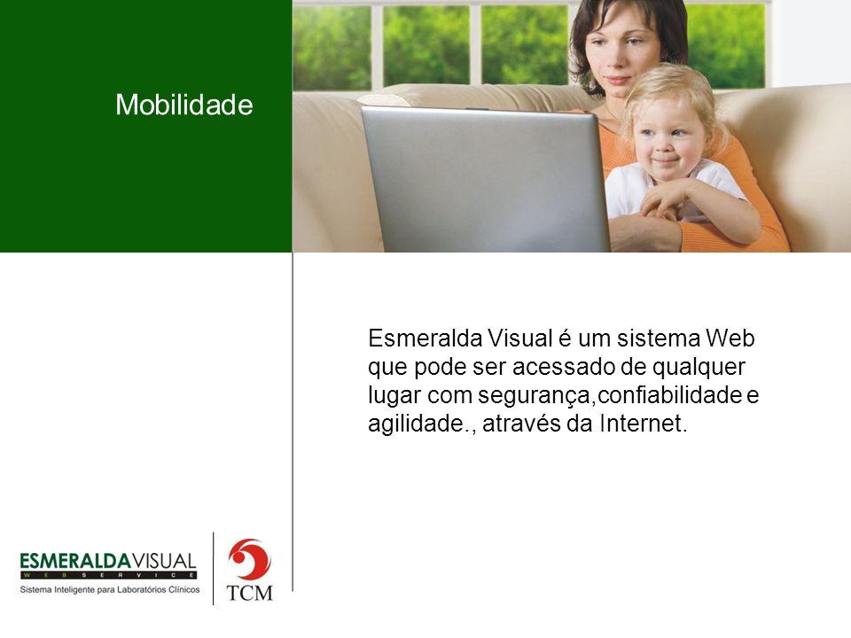 Mobilidade Esmeralda Visual é um sistema Web que pode ser acessado de qualquer lugar com segurança,confiabilidade e agilidade., através da Internet.