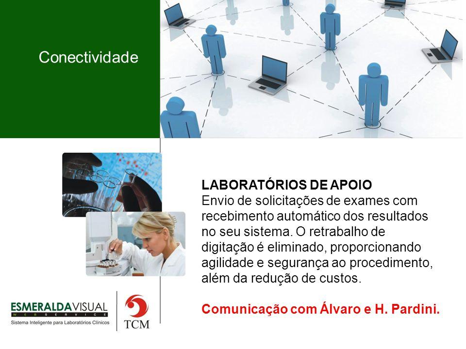 Conectividade LABORATÓRIOS DE APOIO
