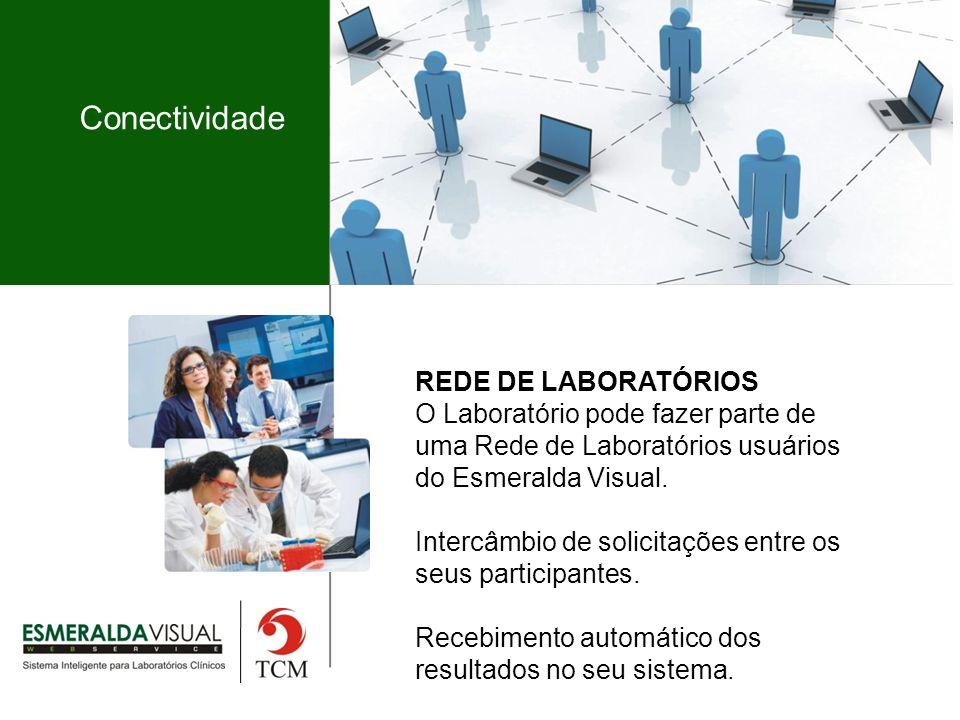 Conectividade REDE DE LABORATÓRIOS