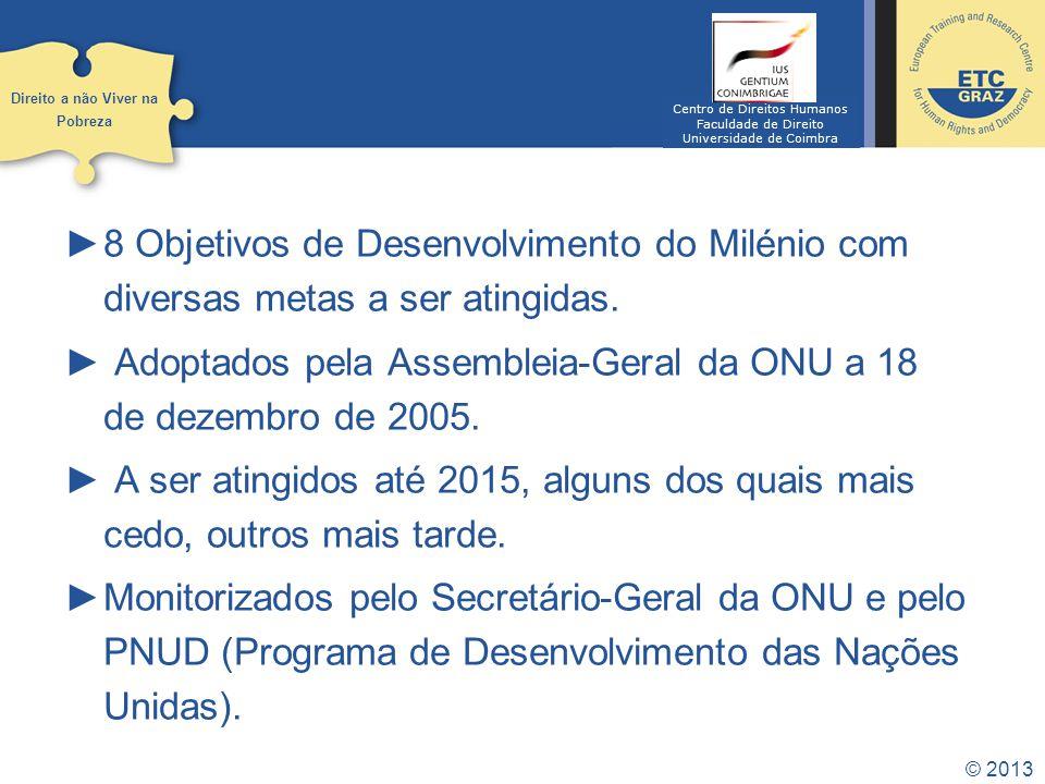 Adoptados pela Assembleia-Geral da ONU a 18 de dezembro de 2005.