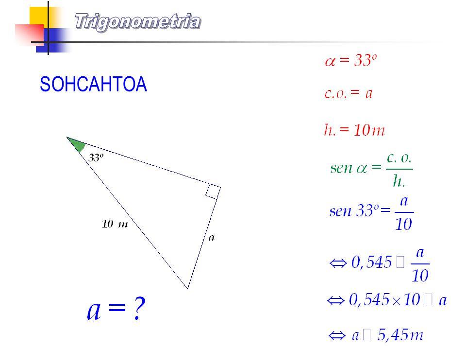 Trigonometria SOHCAHTOA