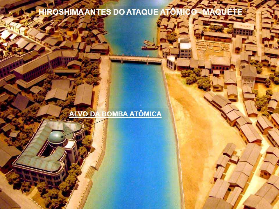 HIROSHIMA ANTES DO ATAQUE ATÔMICO - MAQUETE