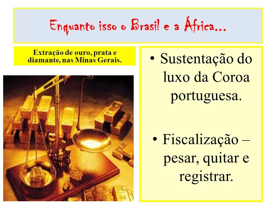 Enquanto isso o Brasil e a África...