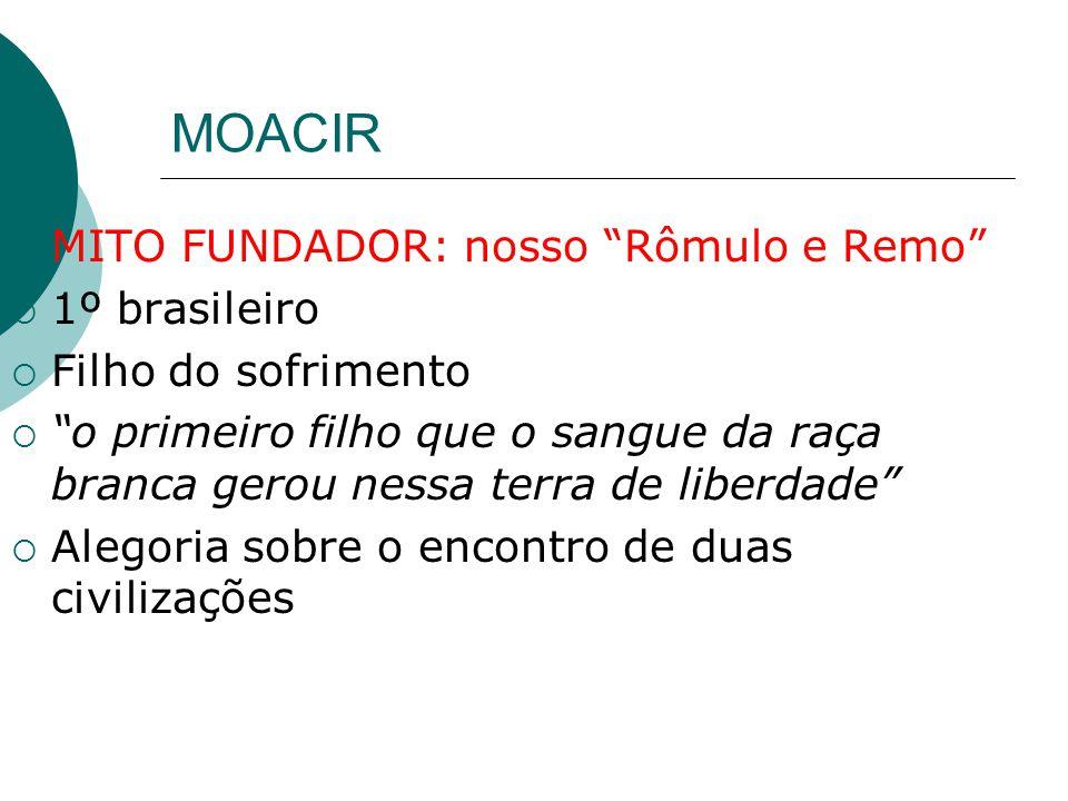 MOACIR MITO FUNDADOR: nosso Rômulo e Remo 1º brasileiro