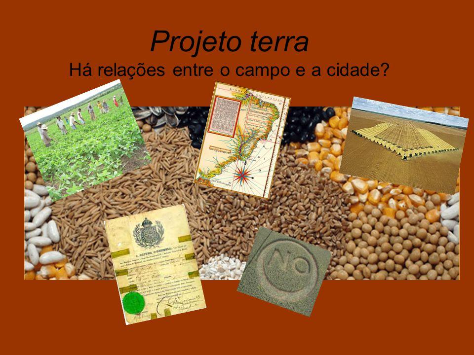 Projeto terra Há relações entre o campo e a cidade