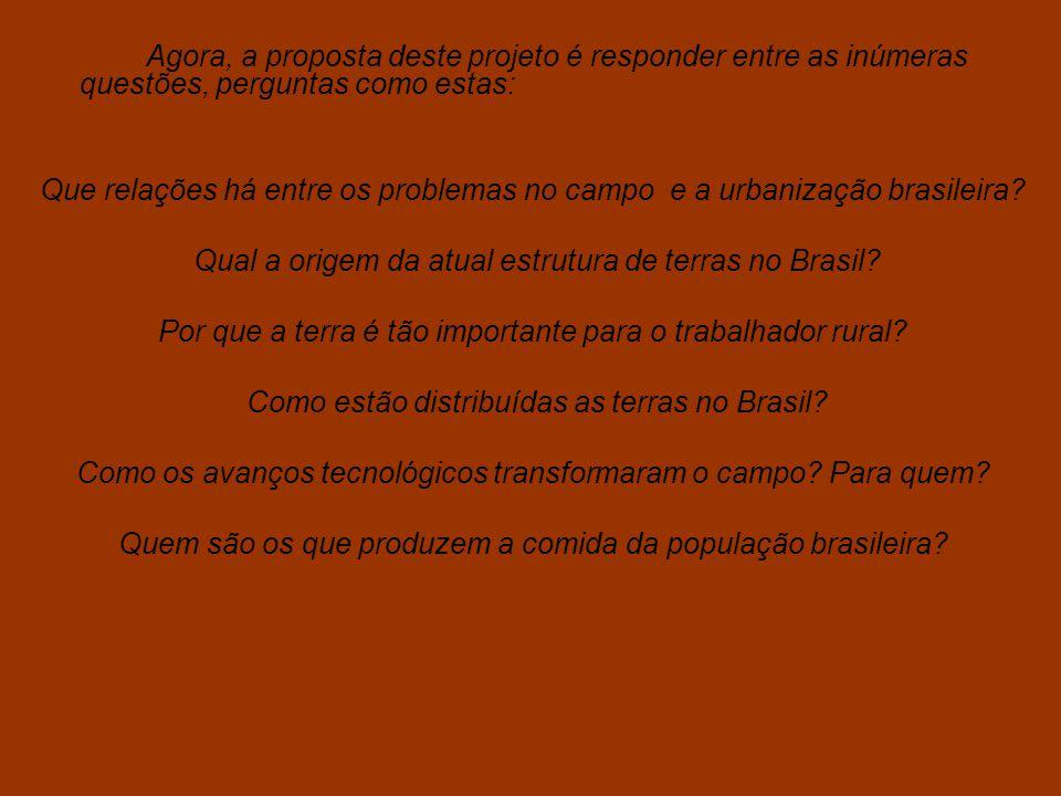 Qual a origem da atual estrutura de terras no Brasil