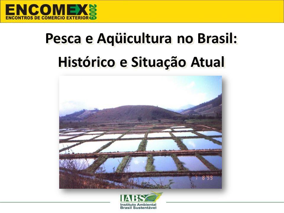 Pesca e Aqüicultura no Brasil: Histórico e Situação Atual