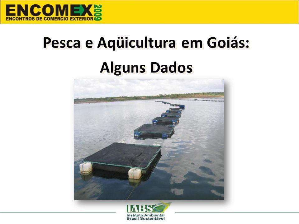 Pesca e Aqüicultura em Goiás: