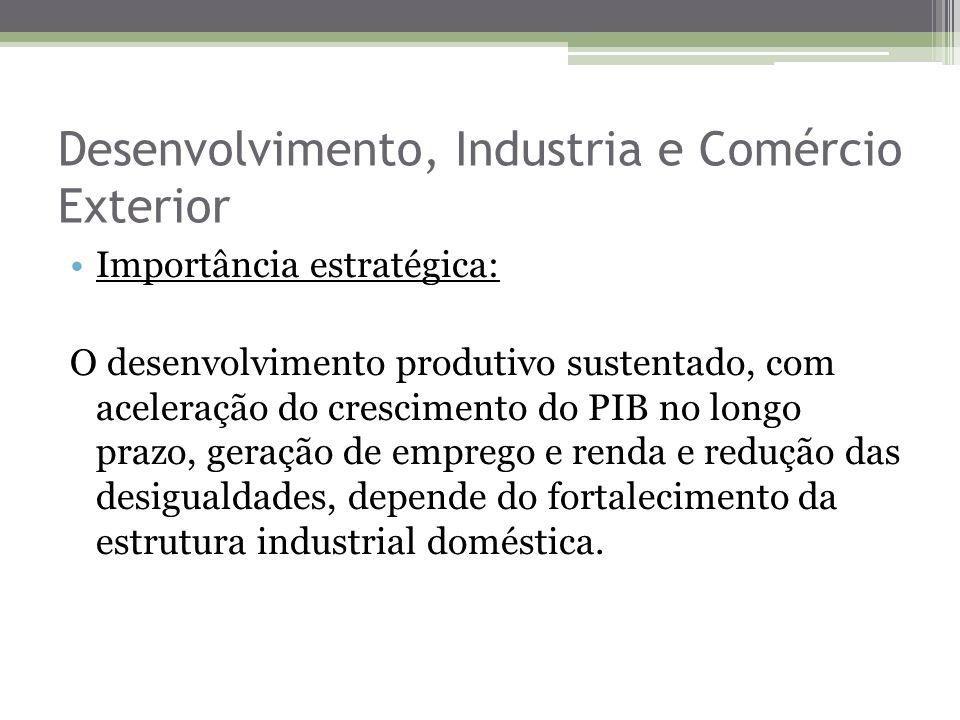 Desenvolvimento, Industria e Comércio Exterior