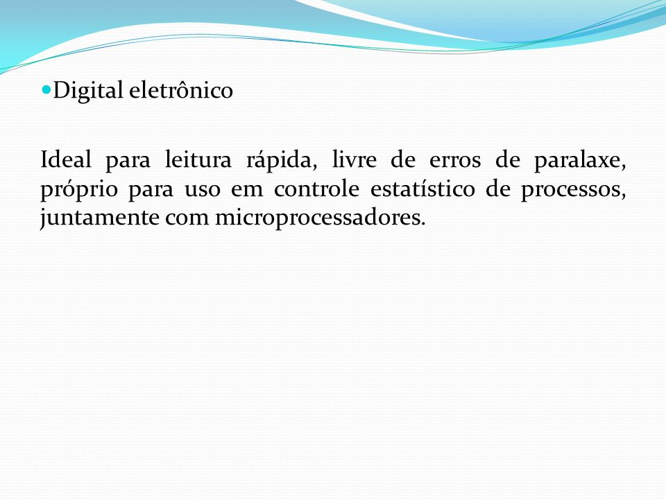 Digital eletrônico