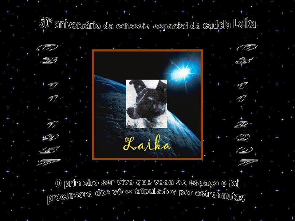 50º aniversário da odisséia espacial da cadela Laika