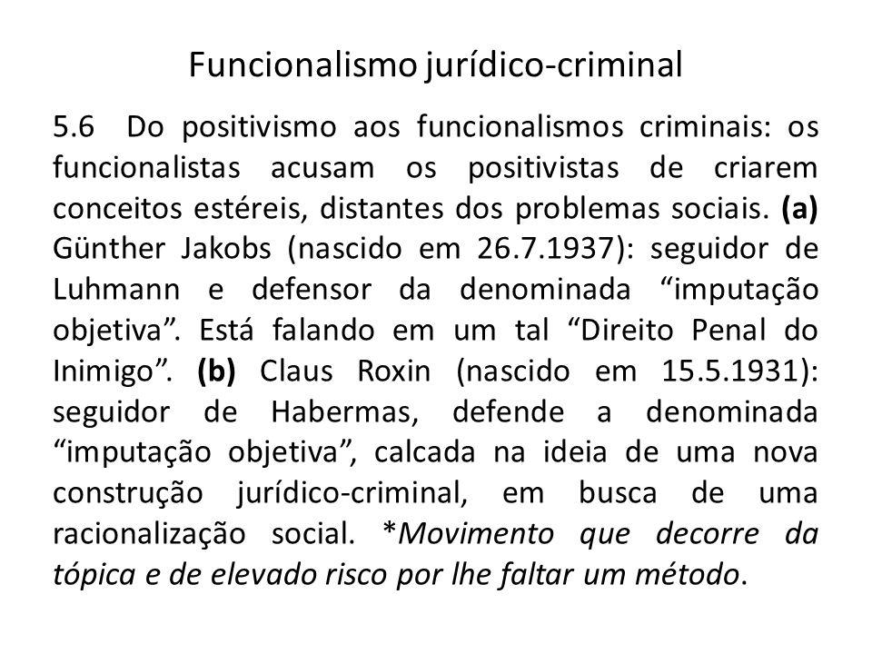 Funcionalismo jurídico-criminal