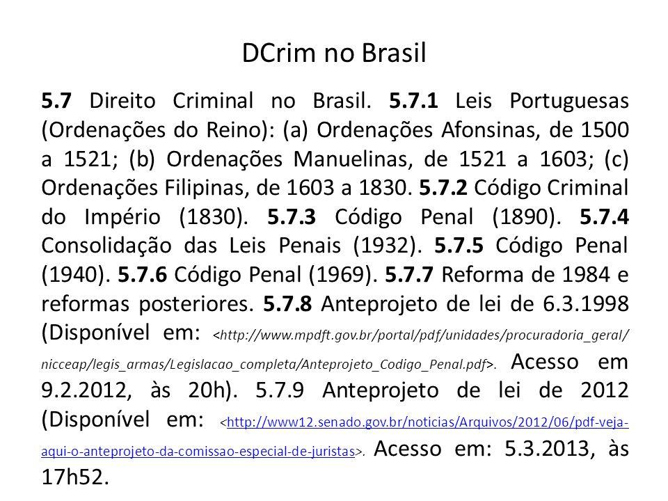 DCrim no Brasil
