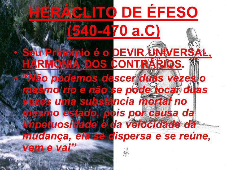 HERÁCLITO DE ÉFESO (540-470 a.C)