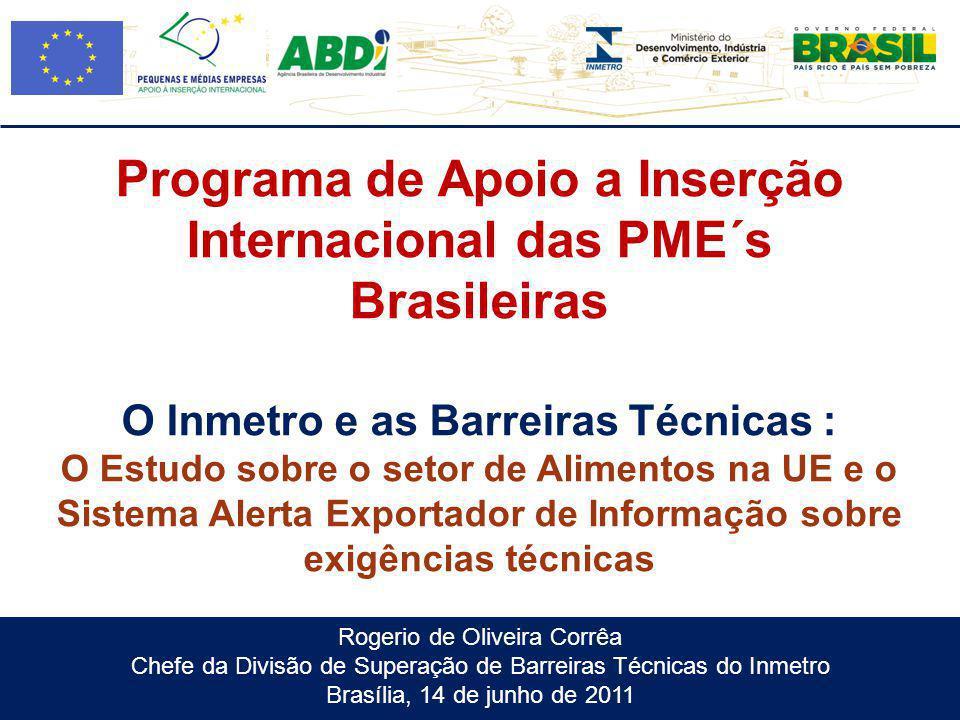 Programa de Apoio a Inserção Internacional das PME´s Brasileiras