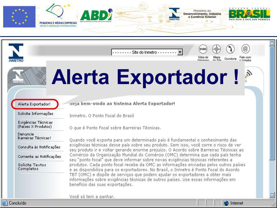 Alerta Exportador !