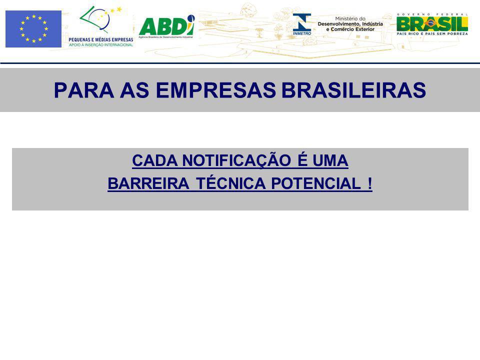 PARA AS EMPRESAS BRASILEIRAS