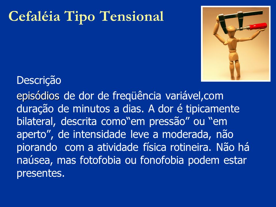 Cefaléia Tipo Tensional