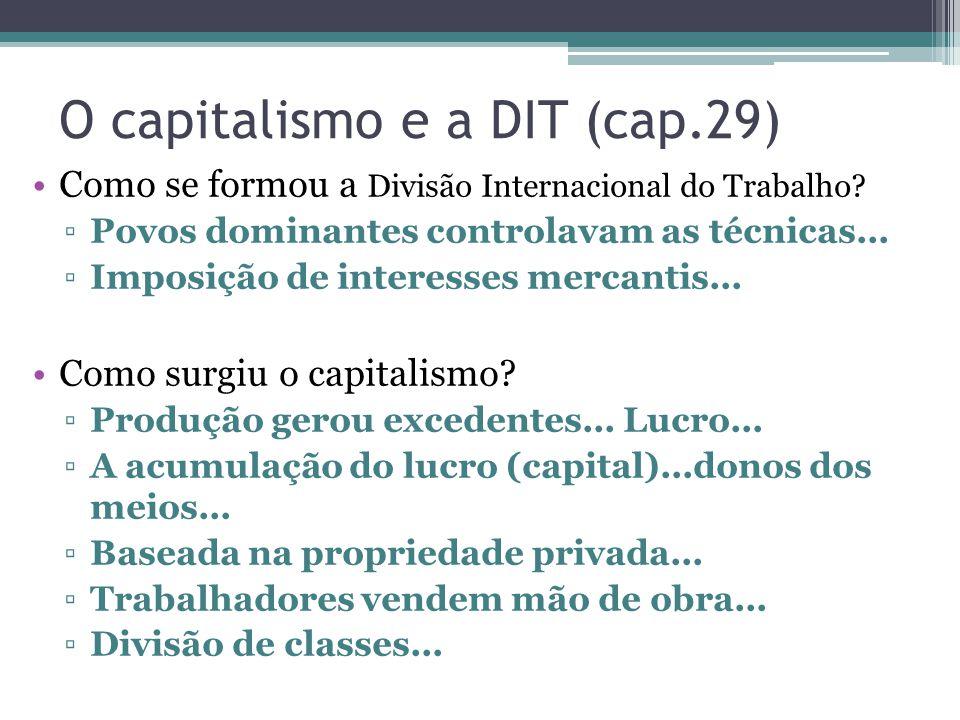 O capitalismo e a DIT (cap.29)