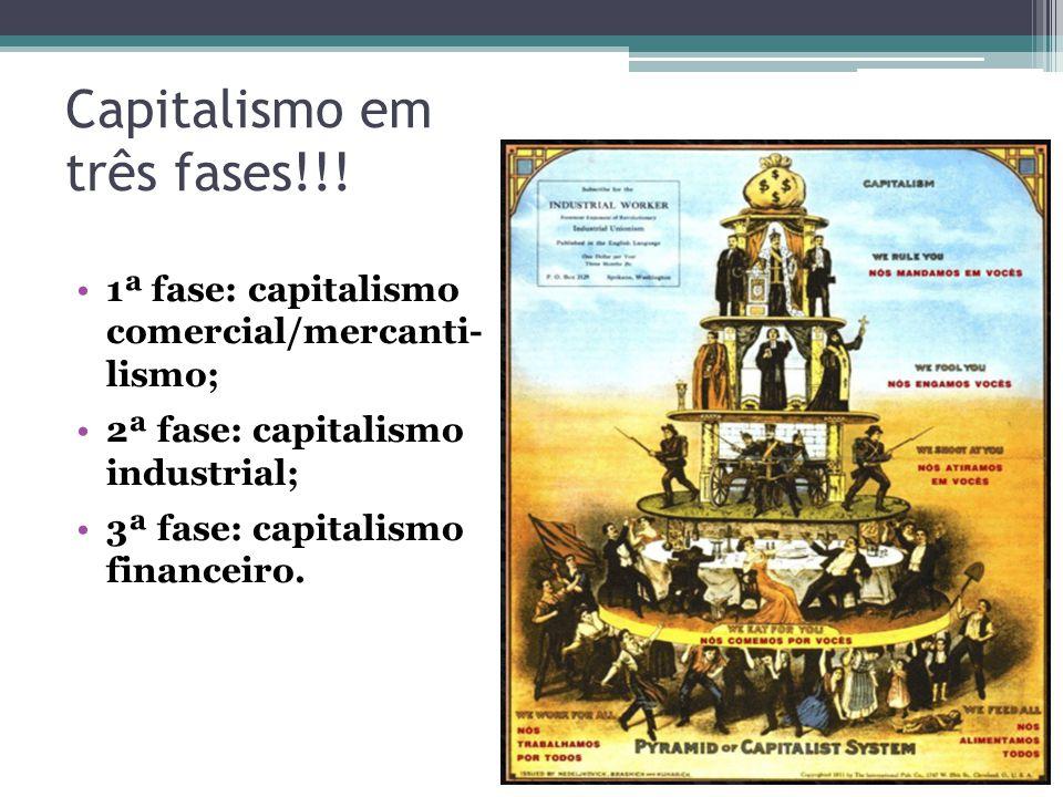 Capitalismo em três fases!!!