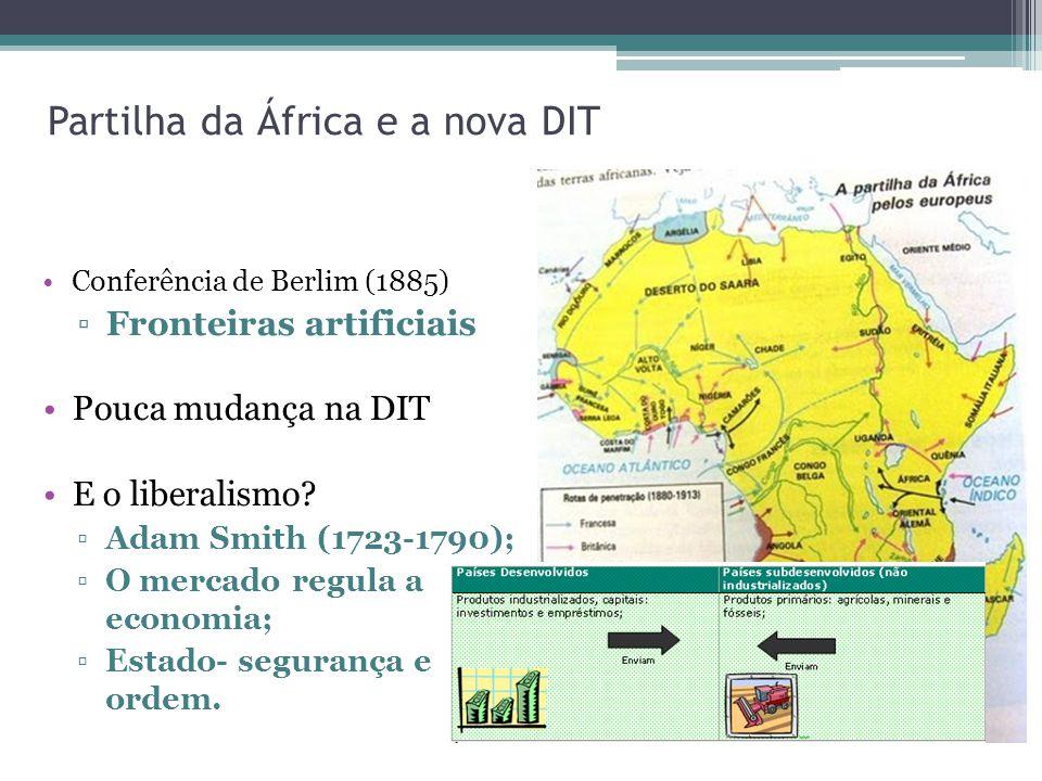 Partilha da África e a nova DIT