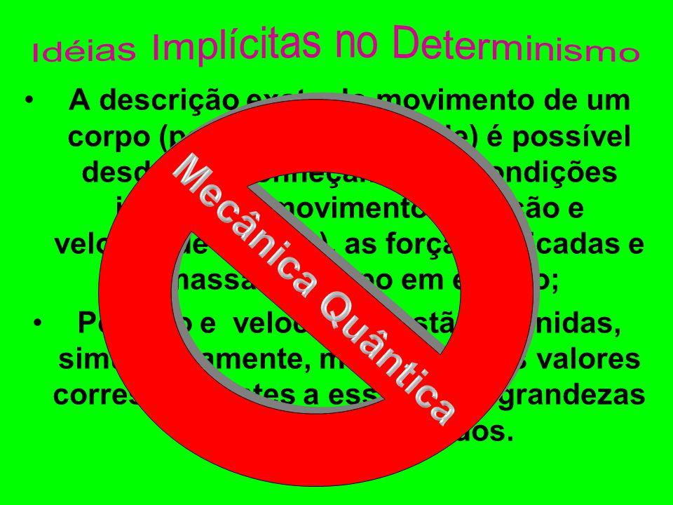 Idéias Implícitas no Determinismo
