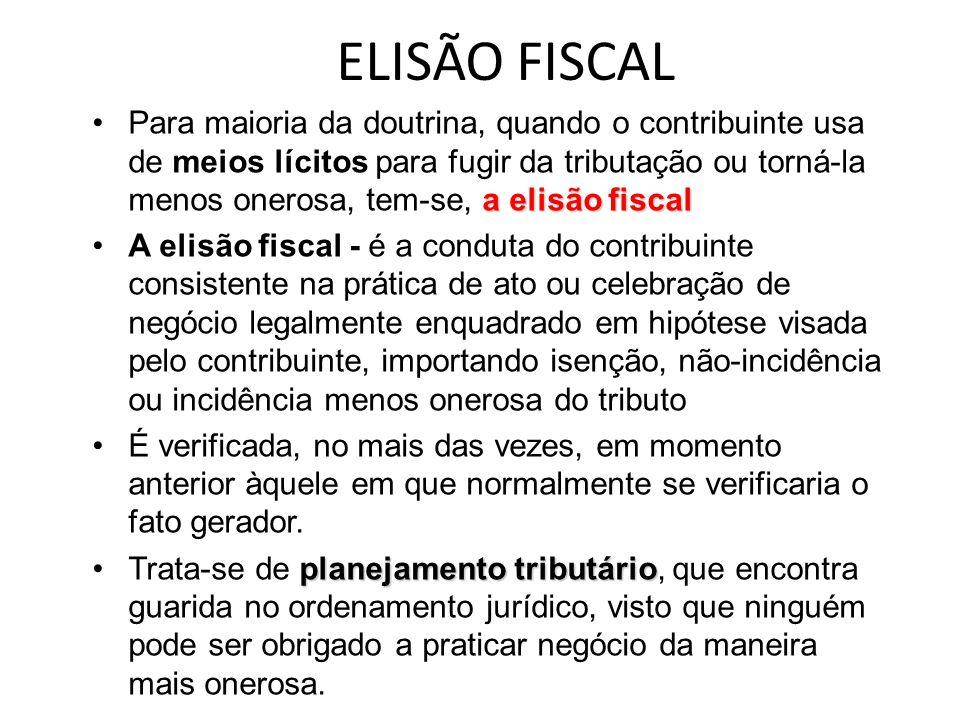 ELISÃO FISCAL