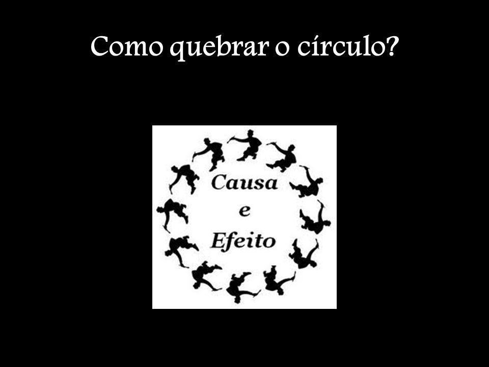 Como quebrar o círculo