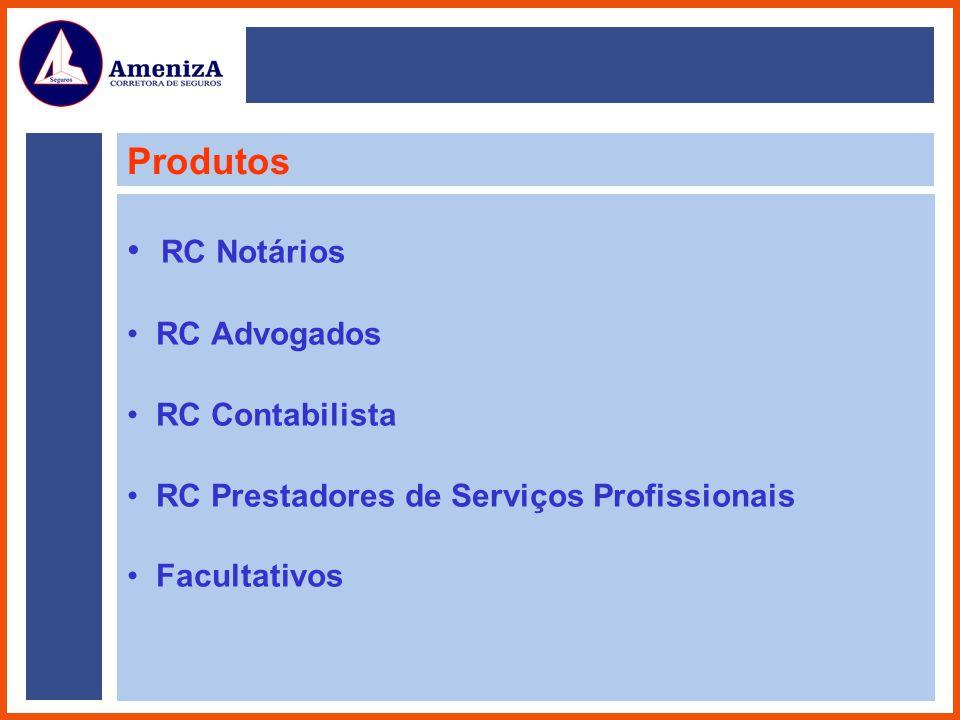Produtos RC Notários RC Advogados RC Contabilista