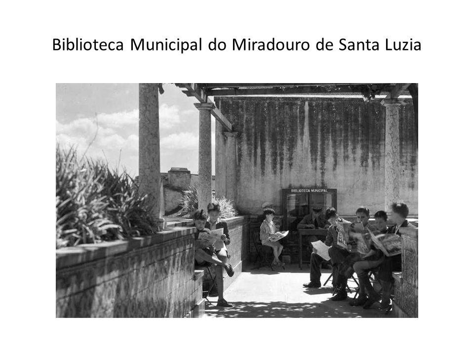 Biblioteca Municipal do Miradouro de Santa Luzia