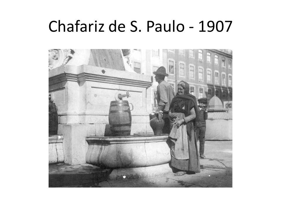 Chafariz de S. Paulo - 1907