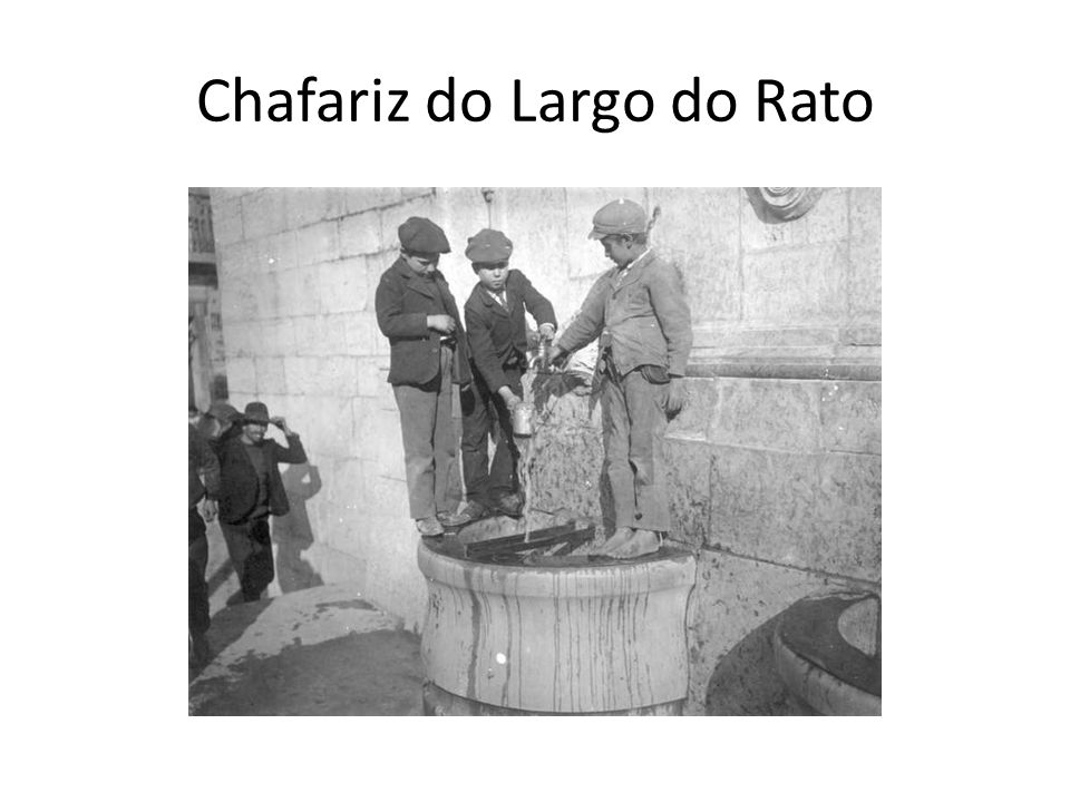 Chafariz do Largo do Rato