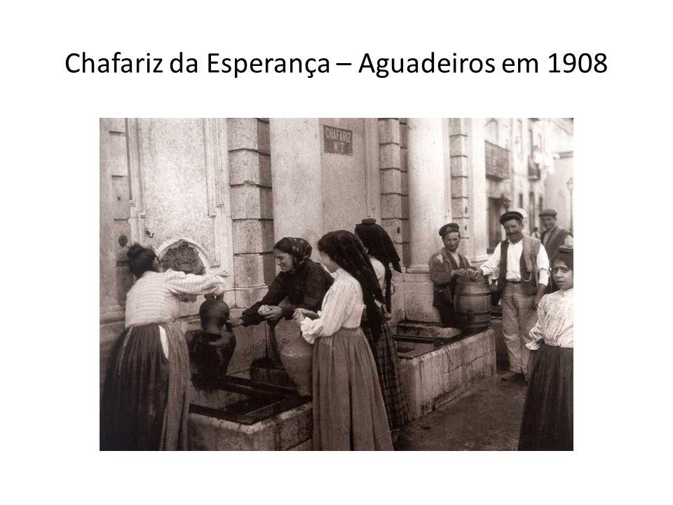 Chafariz da Esperança – Aguadeiros em 1908