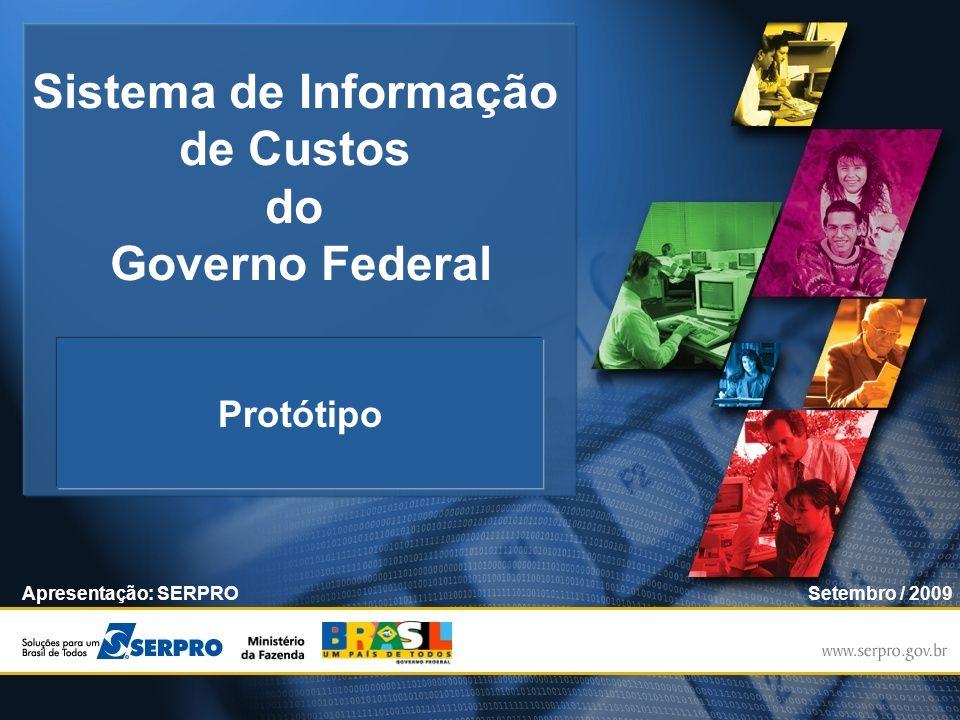 Sistema de Informação de Custos do Governo Federal