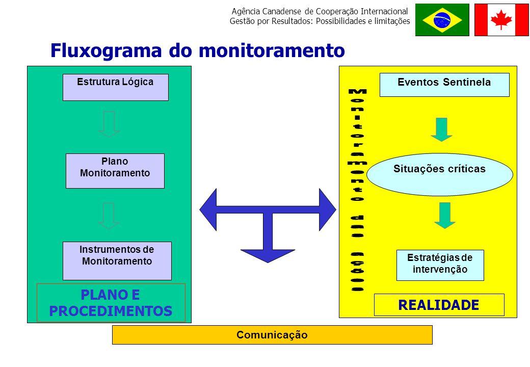 Fluxograma do monitoramento