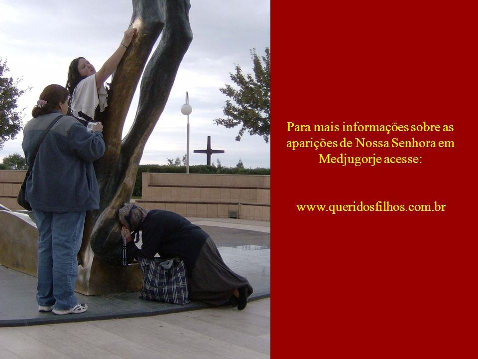 Para mais informações sobre as aparições de Nossa Senhora em Medjugorje acesse: