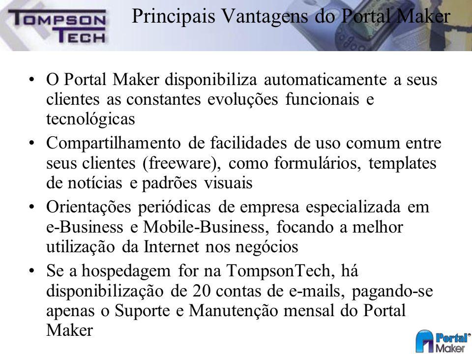 Principais Vantagens do Portal Maker