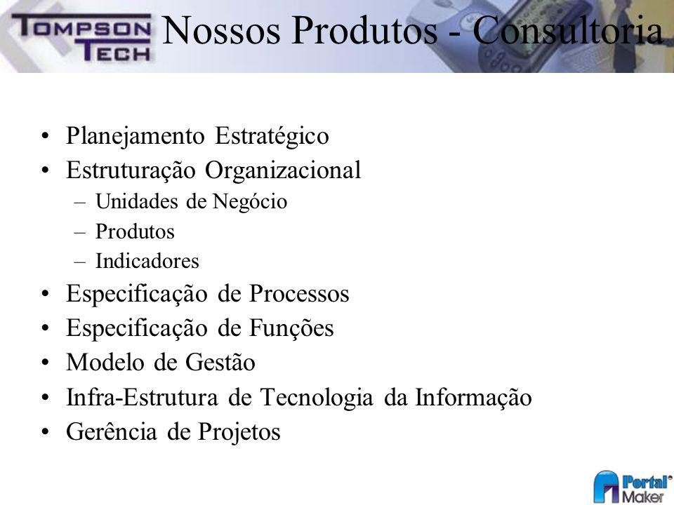 Nossos Produtos - Consultoria