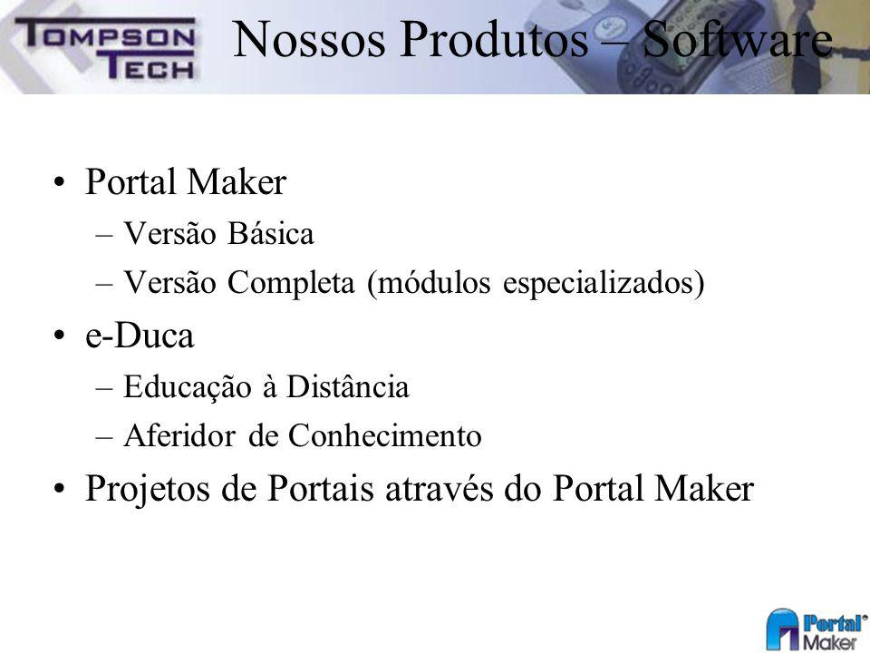 Nossos Produtos – Software