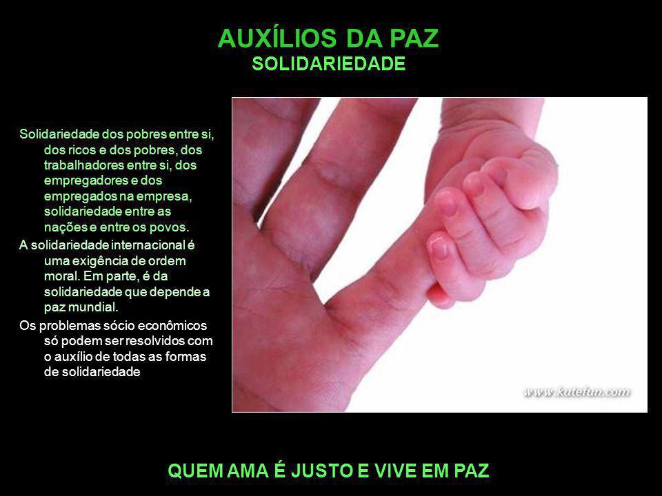 AUXÍLIOS DA PAZ SOLIDARIEDADE