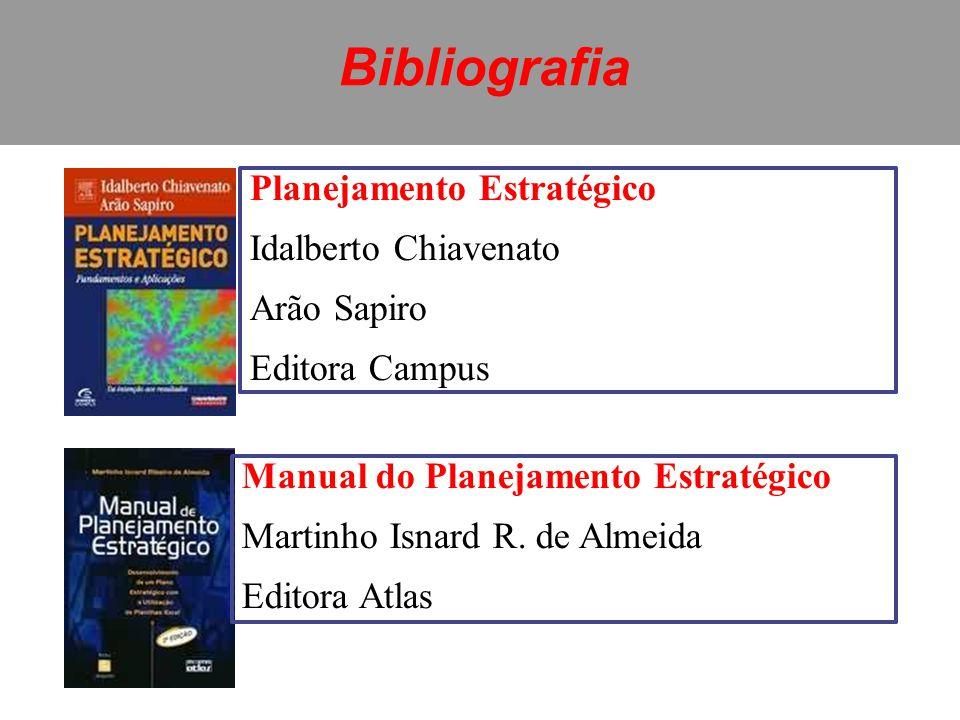 Bibliografia Planejamento Estratégico Idalberto Chiavenato Arão Sapiro