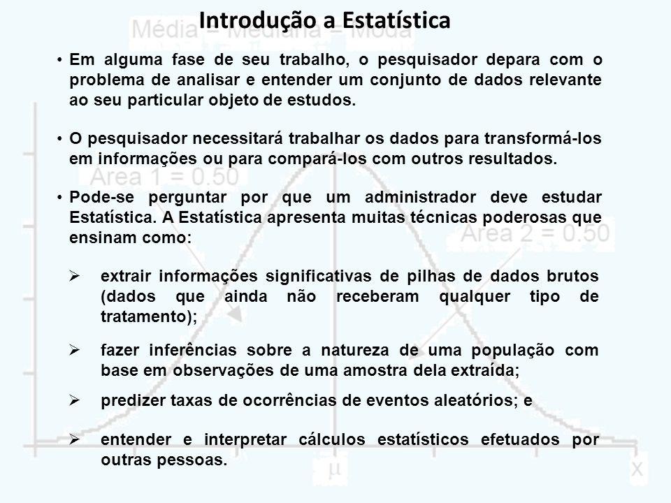 Introdução a Estatística