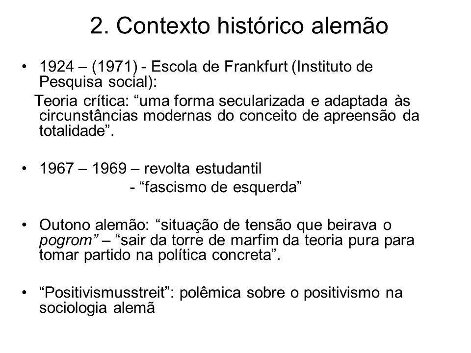 2. Contexto histórico alemão